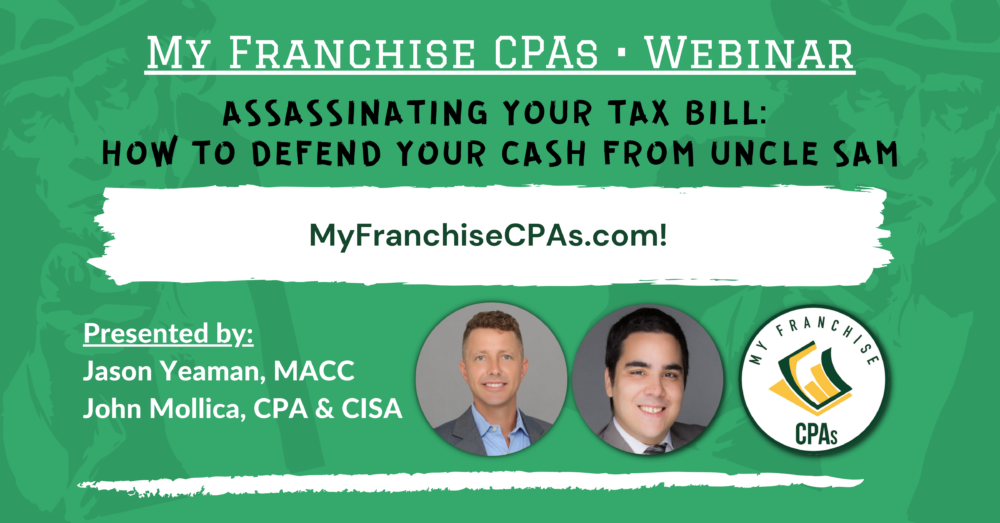 Franchise CPA, Franchise Accountant