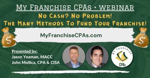 Franchise Funding Webinar, Fund a Franchise