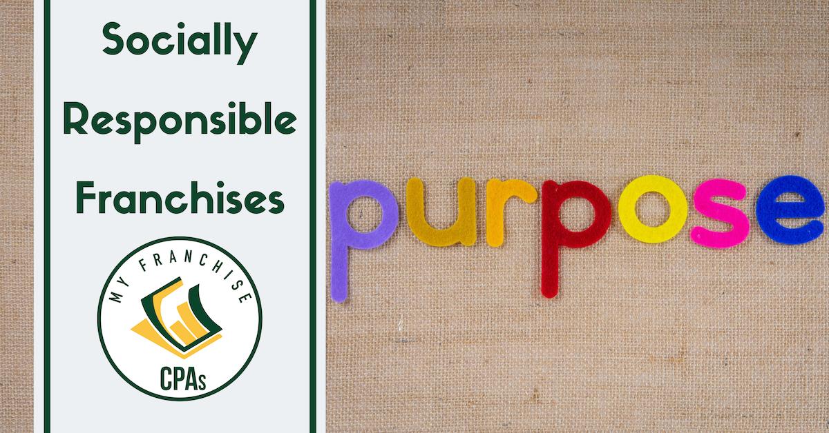 Socially Responsible Franchises, Corporate Social Responsibility