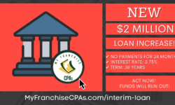 New EIDL Loan Increase, New SBA Loan Increase